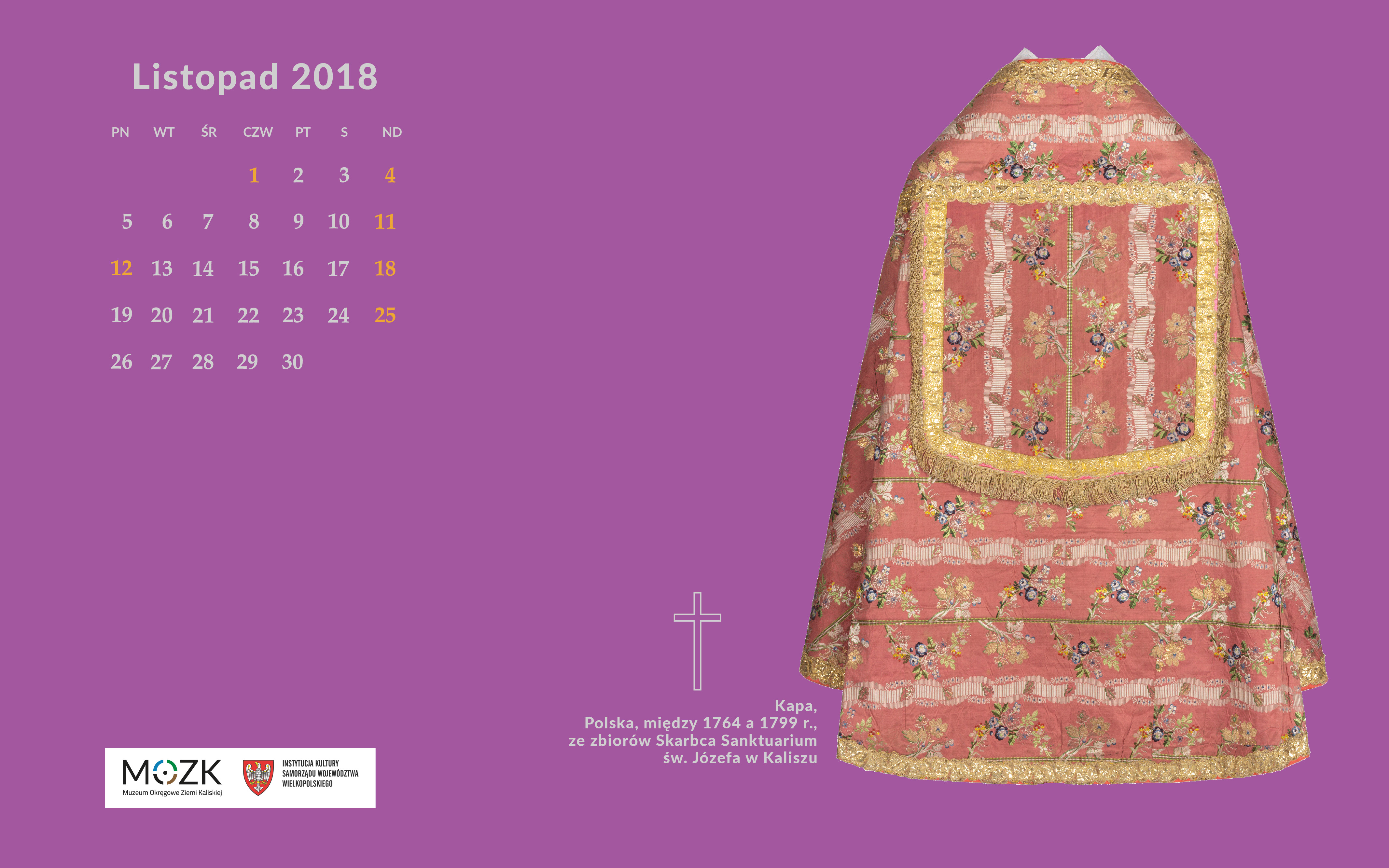 Kalendarz Z Muzeum Na Tapetę Mozk